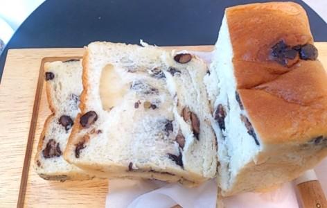 近又の黒豆食パン