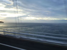 鳴門大橋からの景色