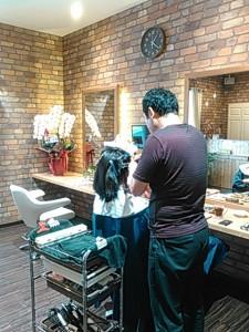 松山古町美容室アクール