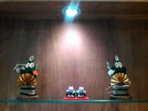 門松飾り 美容室